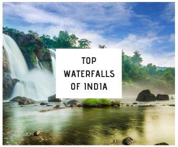 Top Waterfalls of India