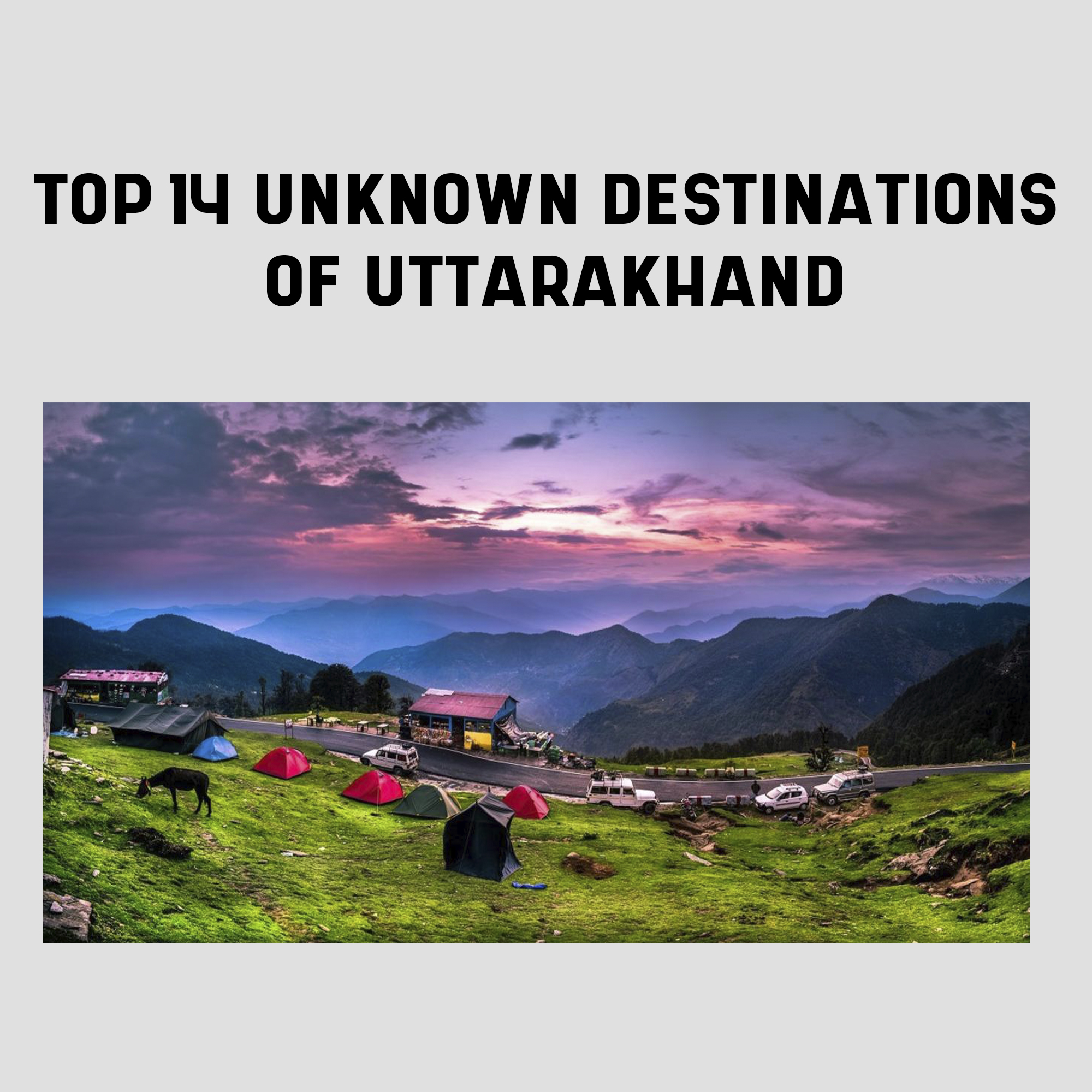 Uttrakhand Places to visit