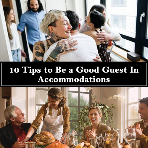 10 tips to become a good guest in accommodations