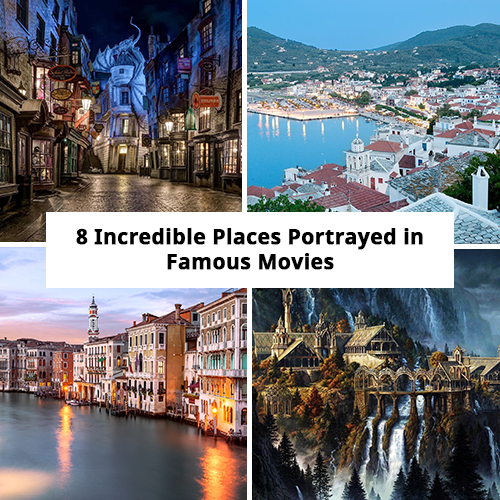 8 Incredible Places Portrayed in Famous Movies
