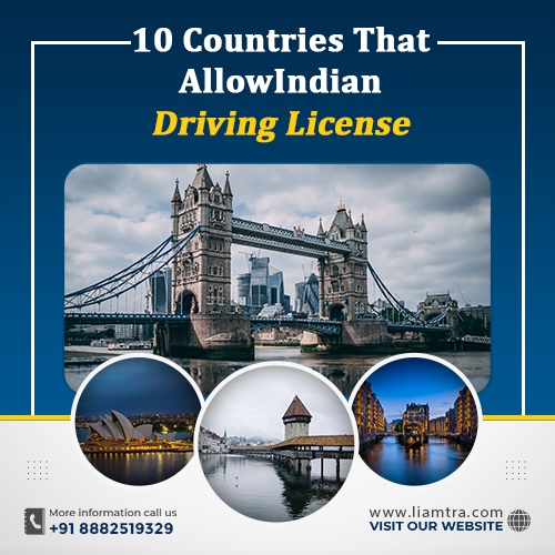 10 Countries That Allows Indian Driving License