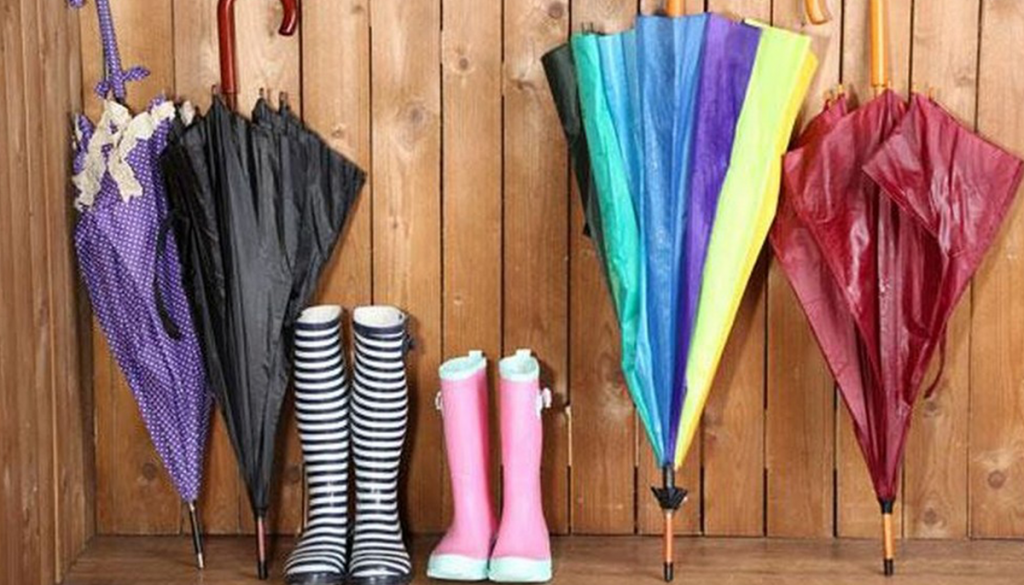 Carry Rain Essentials and Equipment