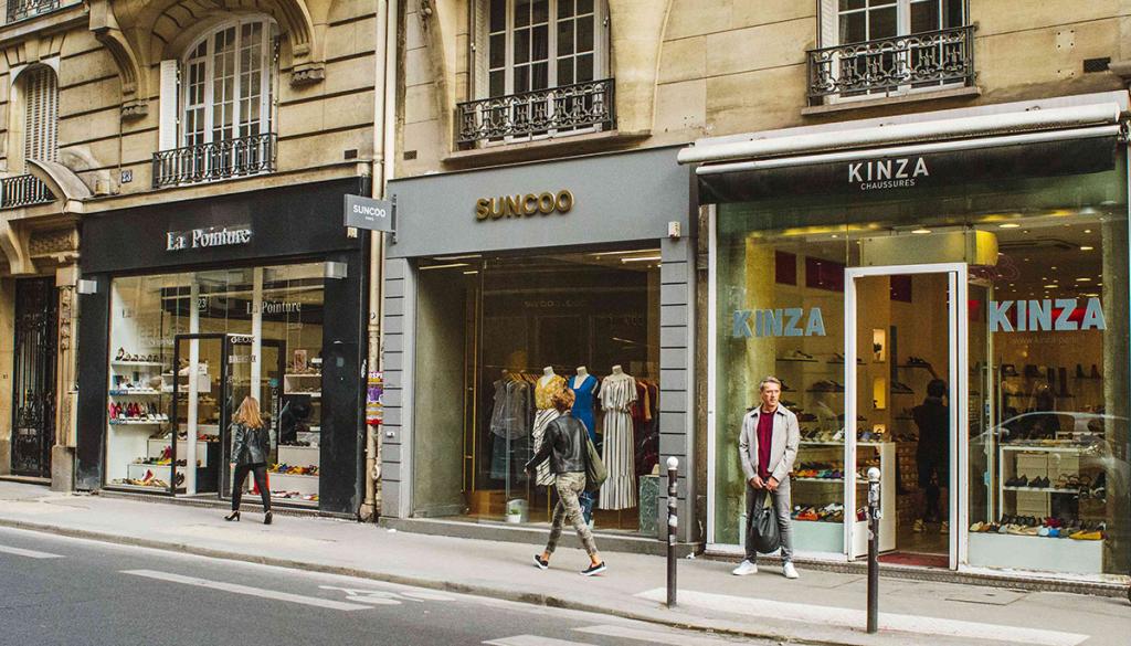 Paris shopping destinations