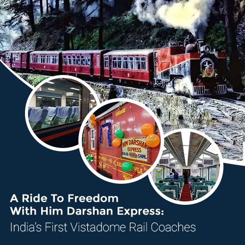 A Ride To Freedom With Him Darshan Express